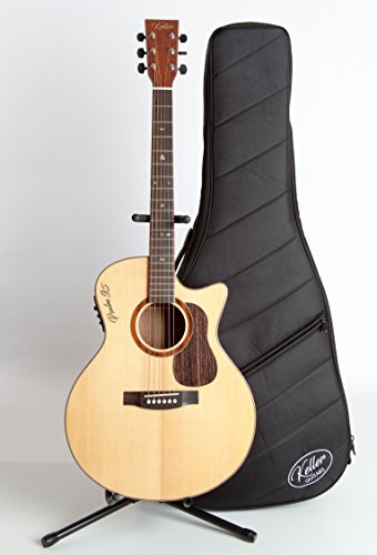 Keller Guitars - The Carpenter Series (Gloss) - Psalm 95 Solid Top Acoustic Electric