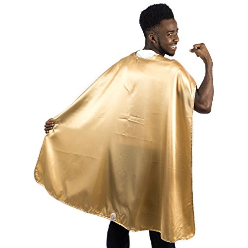 (Everfan Men's Polyester Satin Superhero Cape (38