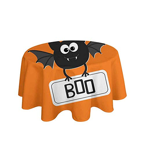 Halloween Easy Care Leakproof and Durable Tablecloth Cute