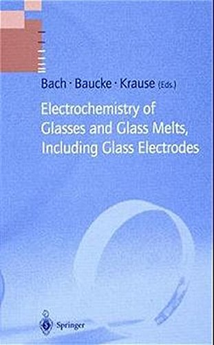 Price comparison product image Electrochemistry of Glasses and Glass Melts,  Including Glass Electrodes