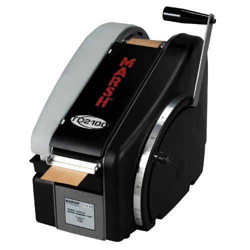 Marsh MARSHTDH TD2100 Manual with Heater Paper Gum Tape Dispenser