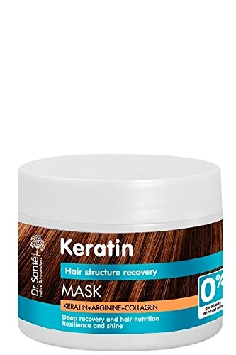 35391 Mask Keratin for dull and brittle hair restoring hair structure 300ml Dr.Sante Dr. Sante 8588006035391
