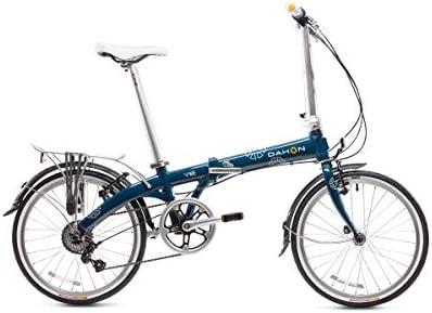 Dahon Vybe C7A - Bicicleta Plegable de 20 Pulgadas, Color Azul ...