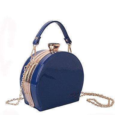 Heart&M Damen Taschen Ganzjährig PU Abendtasche für Hochzeit Veranstaltung Fest Normal Formal Blau Gold Schwarz Rote blue KCEq3Ok