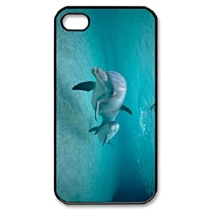 VNCASE Dolphin Phone Case For Iphone 4/4s [Pattern-1]