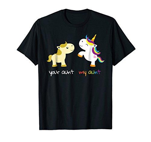 your auntie my auntie unicorn shirt kids - cool auntie gift