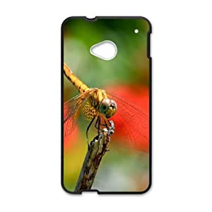 Dragonfly HTC One M7 Cell Phone Case Black TV0717151