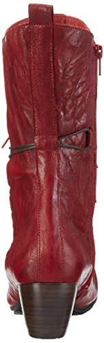 Think ANA - Botas de caña baja para mujer Rojo (Rosso 70)