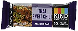 KIND Thai Sweet Chili Sweet and Spicy Bar, 10g Protein