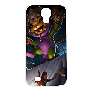 Gnar-002 League of Legends LoL For Case Samsung Galaxy Note 2 N7100 Cover Plastic White
