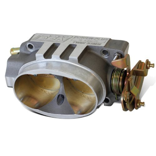 BBK 1539 Twin 58mm Throttle Body - High Flow Power Plus Series For GM 305/350 TPI by BBK Performance ()