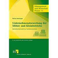 Unternehmensbewertung der Mittel- und Kleinbetriebe: Betriebswirtschaftliche Verfahrensweisen (Management und Wirtschaft Praxis, Band 69)