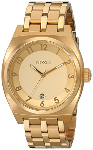 Nixon Women's Monopoly Watch, Gold, One Size