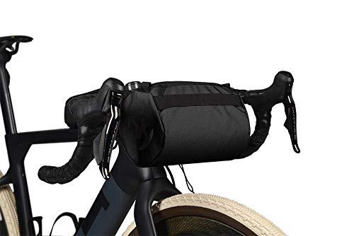 SpeedSleev Diego Black Handlebar Bag, Large