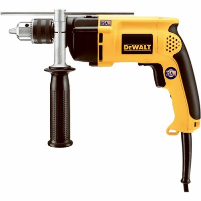 Black & Decker/Dewalt DW511 Hammer Drill, 1/2-In, Variable Speed, Reversing, 360 Side Handle - Quantity 5