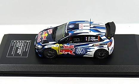 OPO 10 - Polo R WRC S.OGIER/J.INGRASSIA Rally Monte-Carlo 2015 ...