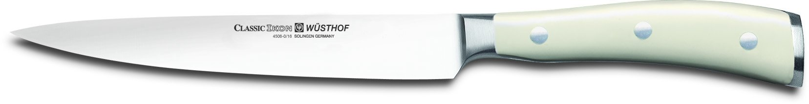 Wusthof Classic Ikon 16cms (6.3-Inch) Sandwich Knife, Creme