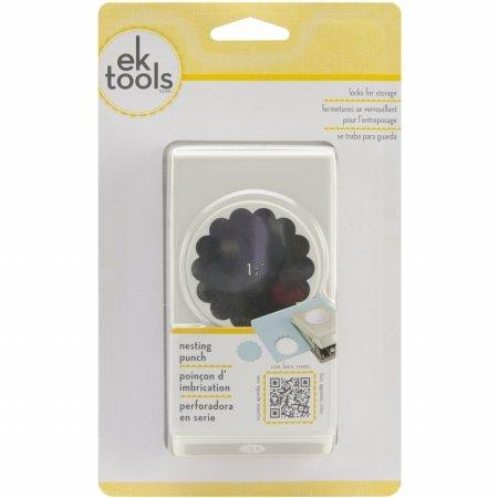 Ek Success Scallop - EK Success E5431009 Large Punch-Scallop Circle, 1.75