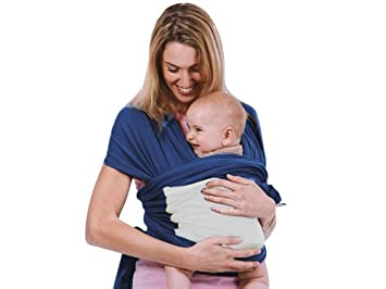 23c8d31dc39 Amazon.com : New Born Carrier Wrap Backpack Kangaroo Baby Holder Cotton  Ergonomic Adjustable (Blue) : Baby