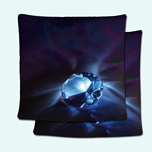 SCOCICI1688 Pillowcases 24069856 Diamond, giving up reflections on a dark background. In part of verges texture of takani is reflected which he lies on, almost as in magnifying - Men Glasses Face Shape Oblong