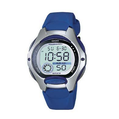 Casio Reloj Digital para Hombre de Cuarzo con Correa en Caucho LW-200-2A: Amazon.es: Relojes