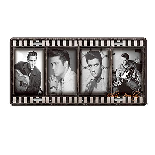 - World Famous Celebrity Figures Retro Vintage Bar Metal Tin Sign Poster Style Wall Art Pub Bar Club Wall Home Decor 12