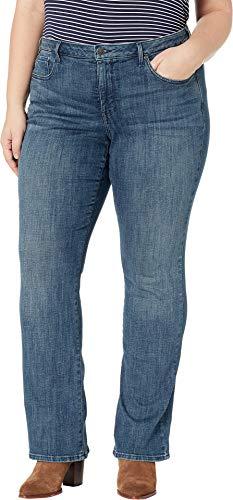NYDJ Plus Size Women's Plus Size Barbara Bootcut in Lupine Lupine 18 W 32