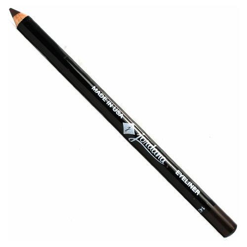 (3 Pack) JORDANA 5 Inch Eyeliner Pencil Brown Black