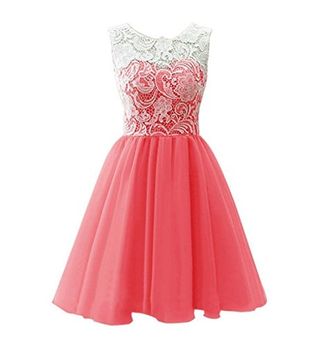 Kleid Wassermelone Damen Linie Drasawee A wOq8IngF