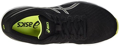 Asics Gel-Zaraca 5, Zapatillas de deporte Hombre Negro (Black/Safety Yellow/Black)