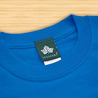 Ivysport Cotton Short Sleeve Color T-Shirt with Classic Logo