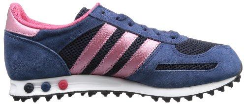 adidas La Trainer - Caña baja de material sintético mujer azul - Blau (St Dark Slate F13/Legend Ink S10/Ray Pink\nF13)