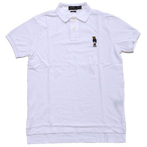 d579205e4 Polo Ralph Lauren Men s Bear Logo Custom Fit Polo Shirt (L