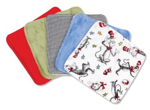 Trend Lab Wash Cloth Seuss
