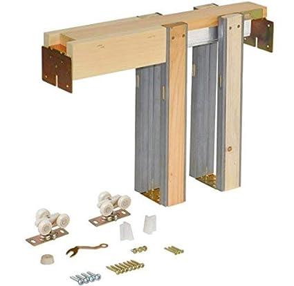 Bon Johnson Hardware 1500 Commercial Grade Pocket Door Frame (28 INCH X 80  INCH)   Pocket Door Hardware   Amazon.com