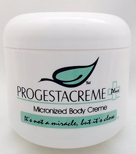 Bio-Identical High Content Progesterone Cream - PROGESTACREME PLUS - With Over 3600 MG of Progesterone - Women's Natural Answer to Menopause