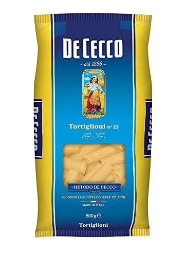10x Pasta De Cecco 100% Italienisch Tortiglioni n. 23 Nudeln 500g