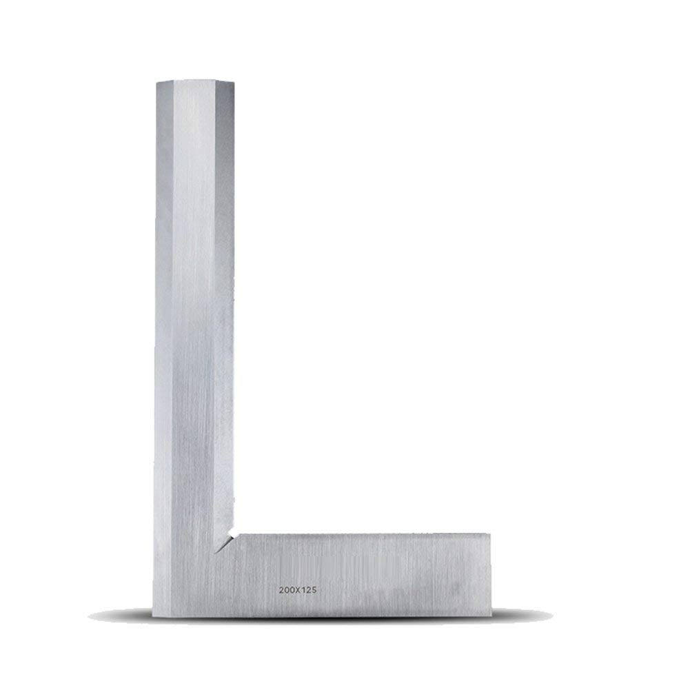 Blade Angle Square Measure Mitre Square Tool 200 125mm Try Square Ruler 90 degree Angle L Shaped Measurer 7.9
