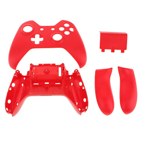 D DOLITY For Microsoft Xbox One Replacement Front Back Faceplate Shell Set Handle Accessory Bundle Kit ()