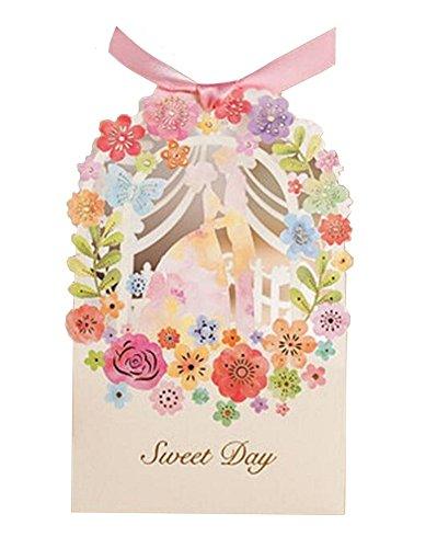 Premium Wedding Pre cut Ribbons Embossing product image