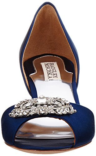 Badgley Mischka Womens Petrina DOrsay Pump Navy