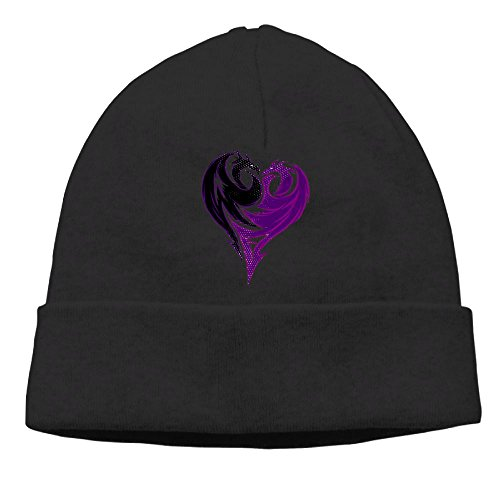 Carter Hill Mal Dragon Heart Unisex Cool Hedging Hat Wool Beanies Cap - Mal Capital