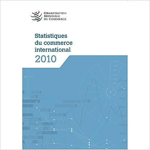 En ligne Statistiques Du Commerce International 2010 epub pdf