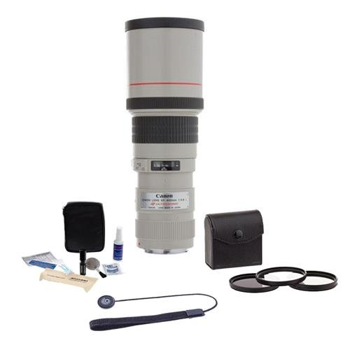 Canon EF 400mm f/5.6 USM Lens undle. USA. Value Kit with Acc