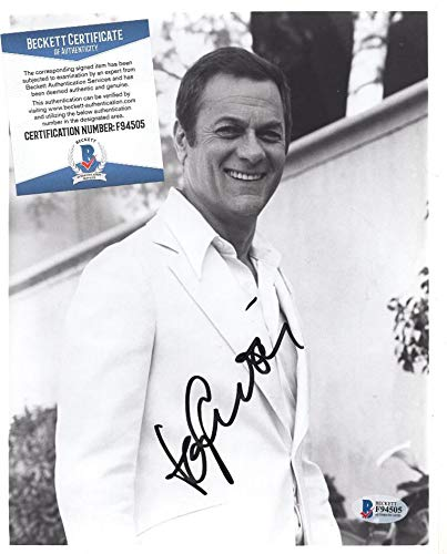 TONY CURTIS ACTOR SIGNED AUTOGRAPHED 8X10 PHOTO BAS F94505
