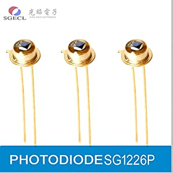 PHOTODIODE, Silicon PIN Photodiodes, 320-1100nm, TO18 Type, Epoxy encapsulation, Photoelectric Detector: Amazon.com: Industrial & Scientific