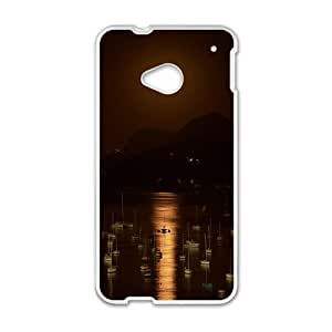 Creative Bright Moon Cell Phone Case For HTC M7