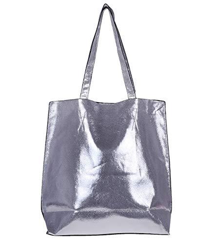 Simois Ywzm 007 Pour Cabas Silver Femme qfgqwvR