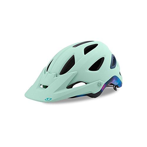 Mount Interface Rotational (Giro Montara MIPS Matte Mint Tie Dye Ladies Mountain Bike Helmet Size Medium)
