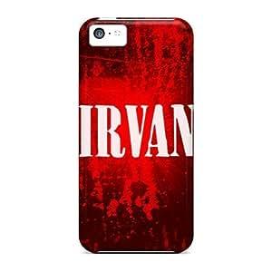 USMONON Phone cases New Arrival Iphone Iphone 5c Case Nirvana Case Cover